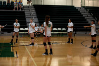 Murray Volleyball Green vs White Game